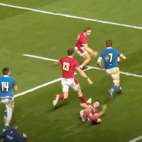 Autumn Nations Cup: Galles - Italia 38-18 [VIDEO]