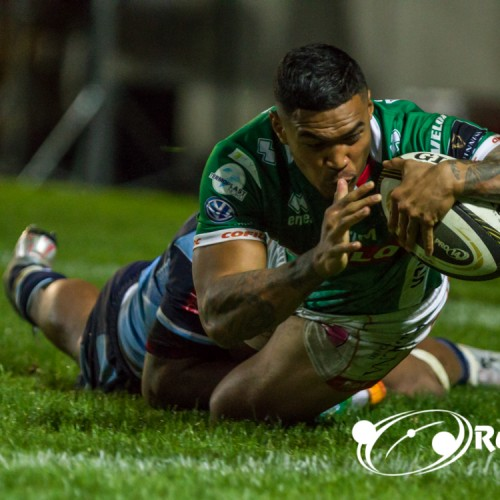 Benetton Rugby: Monty Ioane nel Best XV di Guinness Pro14
