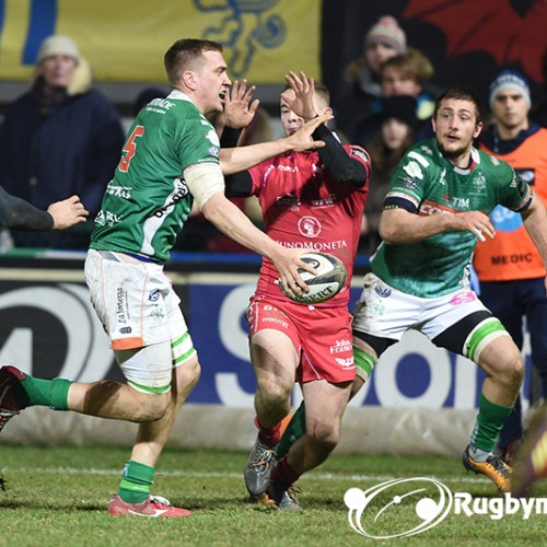 Benetton Rugby - Scarlets 25-19 [VIDEO]
