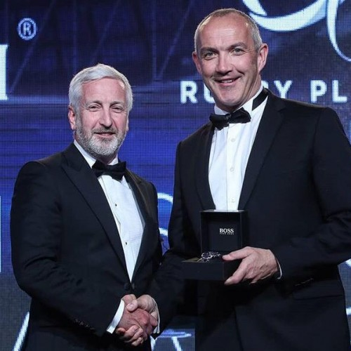 "Conor O'Shea entra ufficialmente nella ""BNY Mellon Rugby Players Ireland Hall of Fame"""