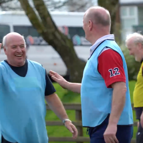 Dall'Irlanda il rugby Over 60 [VIDEO]