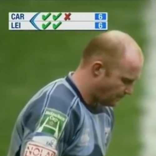 "Dieci anni fa Cardiff Blues v Leicester Tigers finì ai ""rigori"" [VIDEO]"