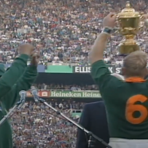 Finale RWC 1995: Sudafrica - Nuova Zelanda 15-12 [VIDEO]