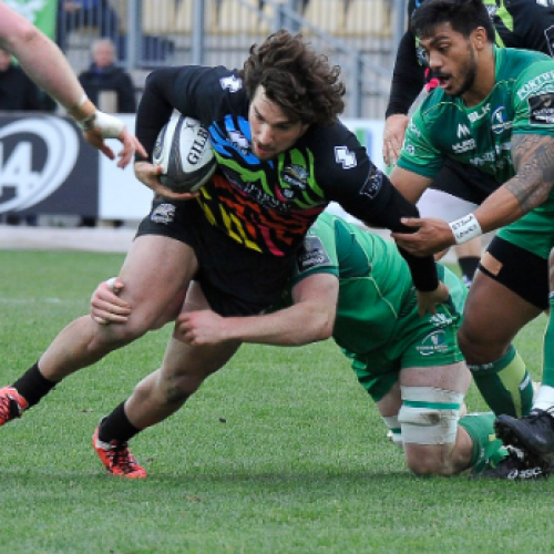 Highlights di Zebre-Connacht 5-6 [VIDEO]