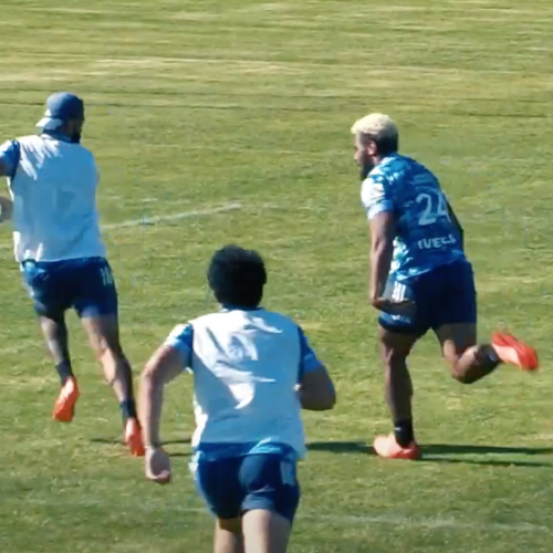 Il numero in allenamento di Beauden Barrett [VIDEO]