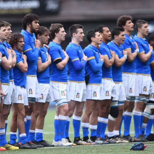 Italia U18 il calendario dei test match 2020