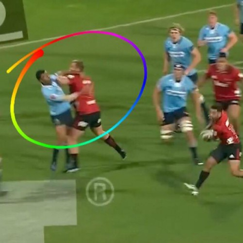 Joe Moody: come atterrare Kurtley Beale e tuffarsi in meta [VIDEO]