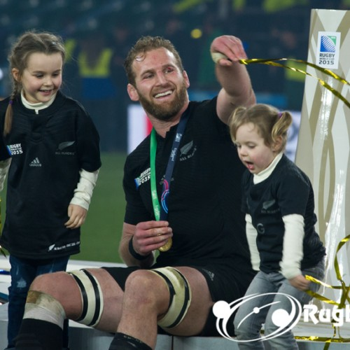 Kieran Read vicino al Racing 92