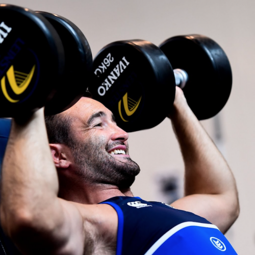 Leinster Rugby pre-season gym [VIDEO]