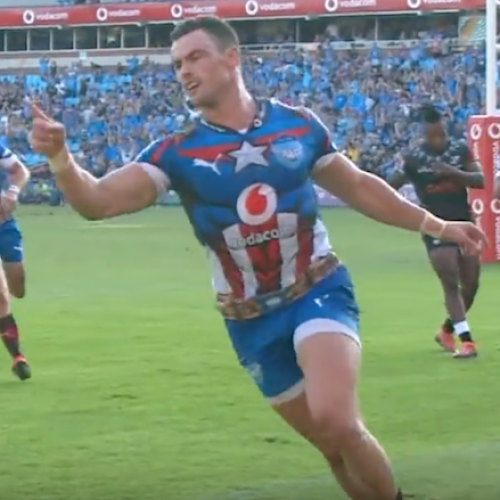 Rugby - Pillole tecniche: la meta di Jesse Kriel in Bulls - Sharks [VIDEO]