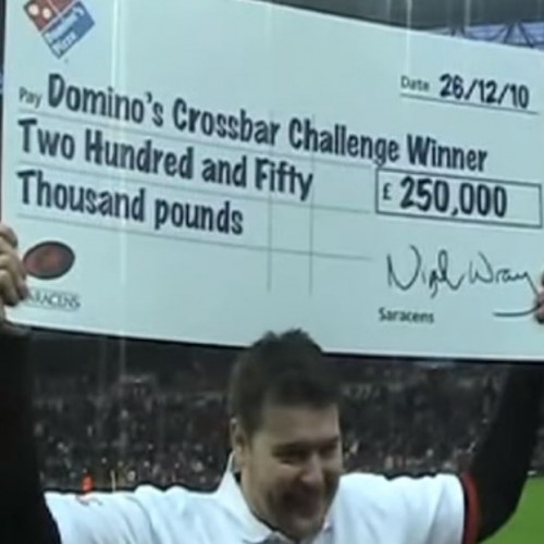 Quando due tifosi vinsero la Domino's Crossbar Challenge [VIDEO]