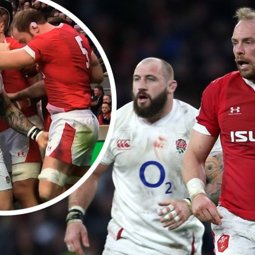 Quando Joe Marler afferra Alun Wyn Jones per i gioielli [VIDEO]