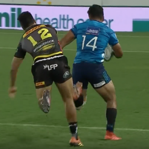 Rugby - Pillole tecniche: la meta di Rieko Ioane in Blues - Stormers [VIDEO]