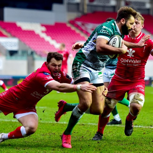 Scarlets v Benetton Rugby 41-17 [VIDEO]