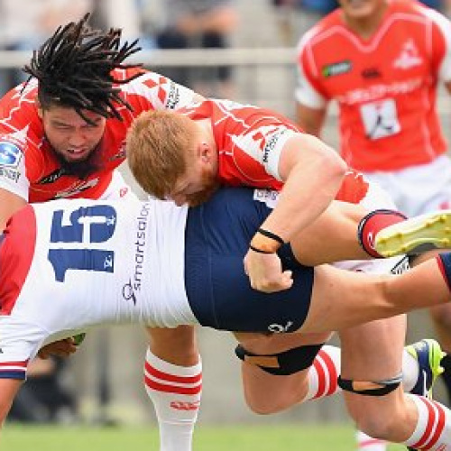 Sunwolves da paura contro i Reds [VIDEO]