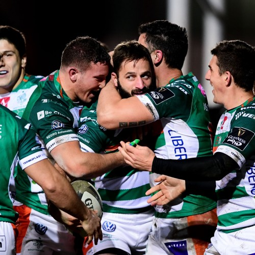 Tutte le mete di Dragons-Benetton 25-37 [VIDEO]