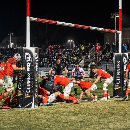 Zebre Rugby - Munster 0-28 [VIDEO]
