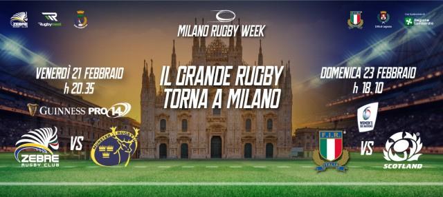 Milano Rugby Week: il Grande Rugby torna a Milano